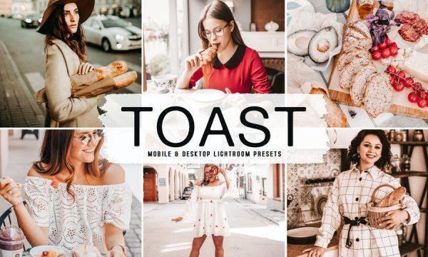 Toast Mobile & Desktop Lightroom Presets