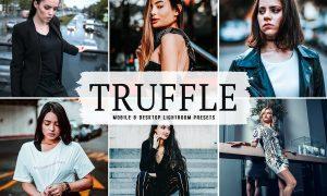 Truffle Mobile & Desktop Lightroom Presets