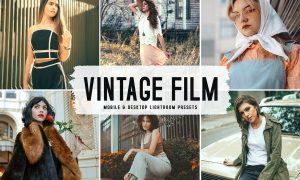 Vintage Film Mobile & Desktop Lightroom Presets