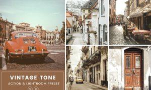 Vintage Tone Action & Lightrom Presets