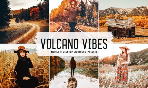 Volcano Vibes Mobile & Desktop Lightroom Presets