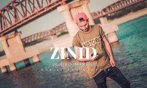 Zinid Lightroom Presets Dekstop and Mobile