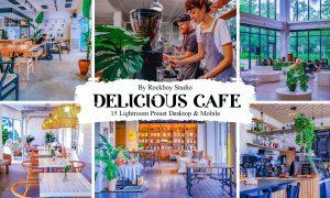 15 Delicious Cafe Lightroom Presets