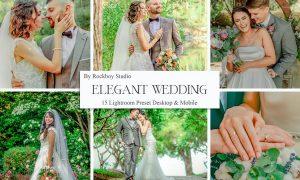 15 Elegant Wedding Lightroom Presets Vol. 2