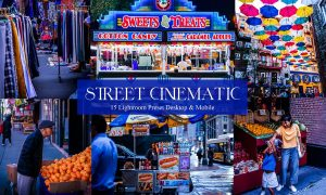 15 Street Cinematic Lightroom Presets
