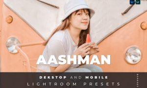 Aashman Desktop and Mobile Lightroom Preset
