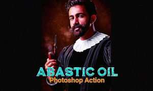 Abastic Oil Photoshop Action 4768225
