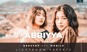 Abbiyya Desktop and Mobile Lightroom Preset