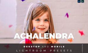 Achalendra Desktop and Mobile Lightroom Preset