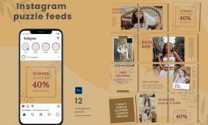 Aisita Instagram Puzzle Feed