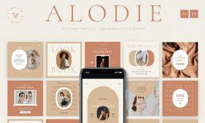 Alodie - Fashion Instagram Pack EUA55VU