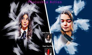 Artistic Halftone Photoshop Action 6358700