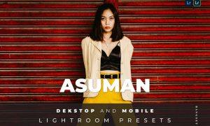 Asuman Desktop and Mobile Lightroom Preset