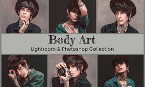 Body Art Lightroom Ps LUT Presets 6373979