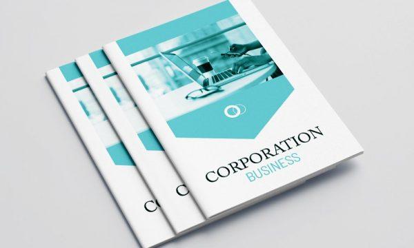 Business Porfolio Brochure 16 Pages 5055197