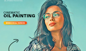 Cinematic Oil Painting 32809707