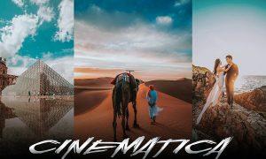 Cinematica PRO GRADING - Lightroom & Photoshop