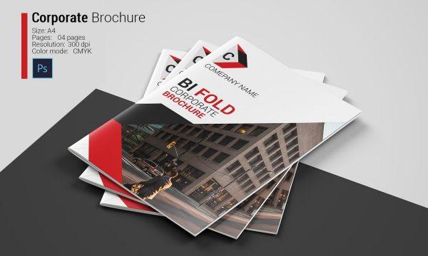 Corporate Bi-fold Brochure 4956308