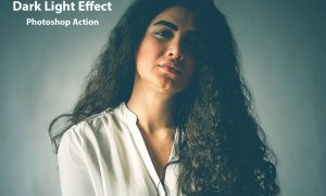 Dark Light Effect PS Action 5073998