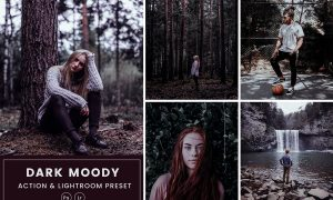 Dark Moody Action & Lightrom Presets