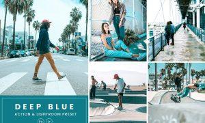 Deep Blue Action & Lightrom Presets