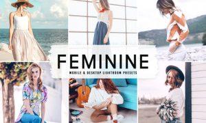 Feminine Mobile & Desktop Lightroom Presets