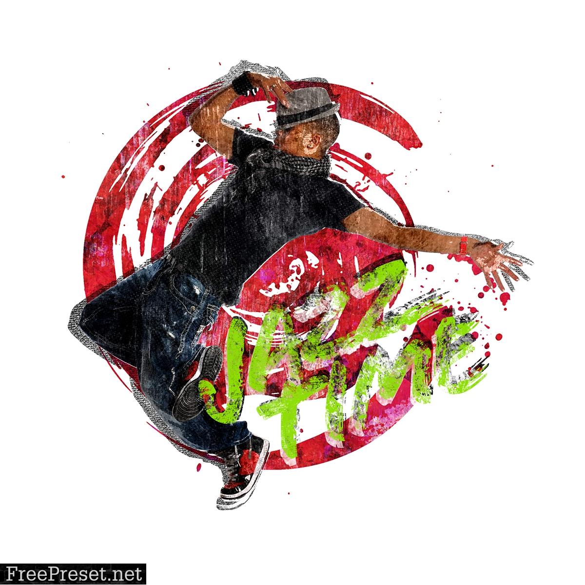 Graffiti CS6+ Photoshop Action 33022444