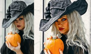 Halloween Oil Art PS Action 6415773