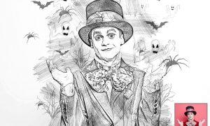Halloween Sketch Photoshop Action 6415908