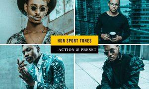 HDR Sport Tones Action & Lightroom Preset