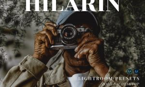 Hilarin Mobile and Desktop Lightroom Presets