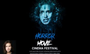 Horror Movie Poster Photoshop Action 5505575