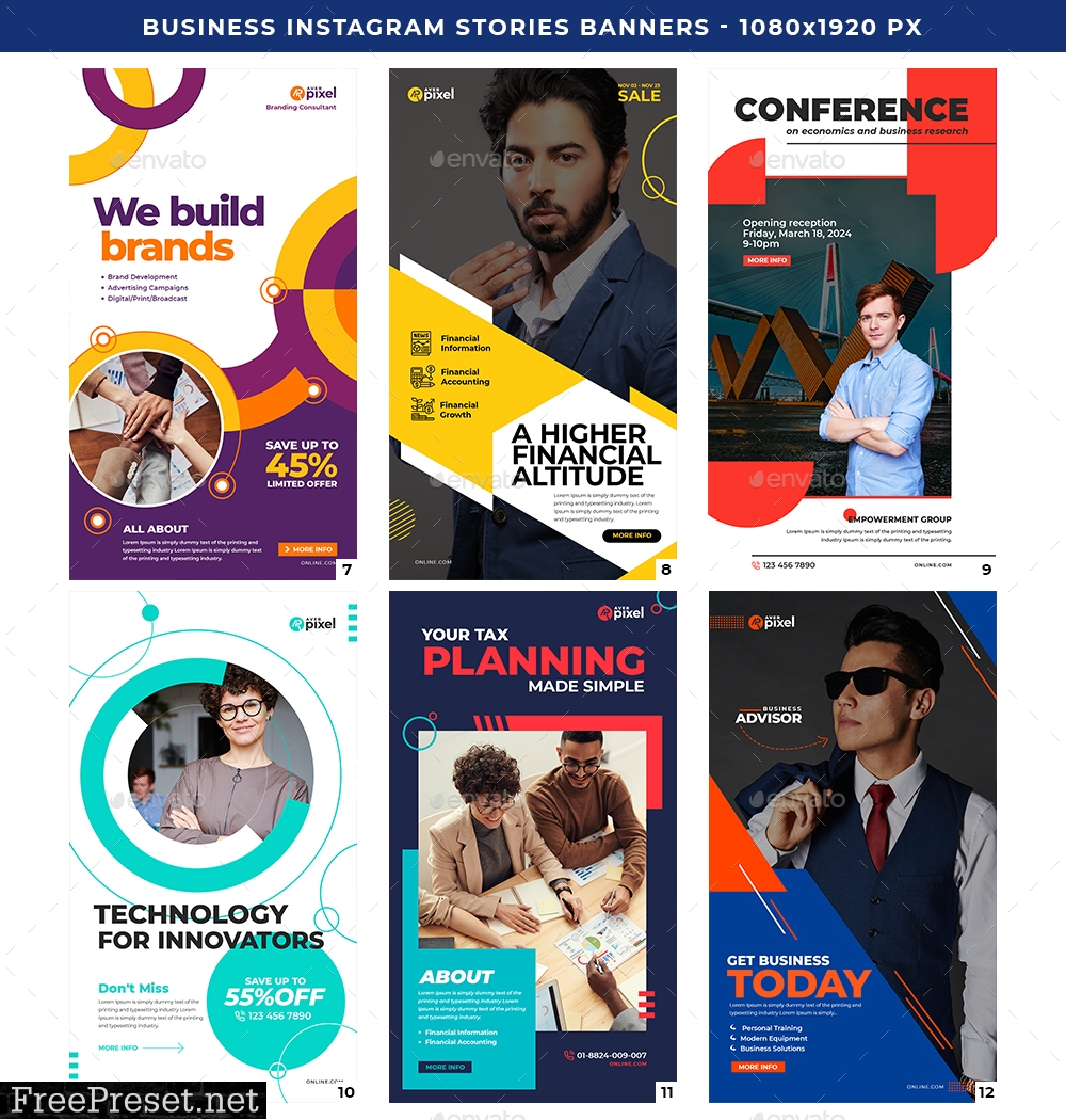Instagram Business Stories Banners 27715116