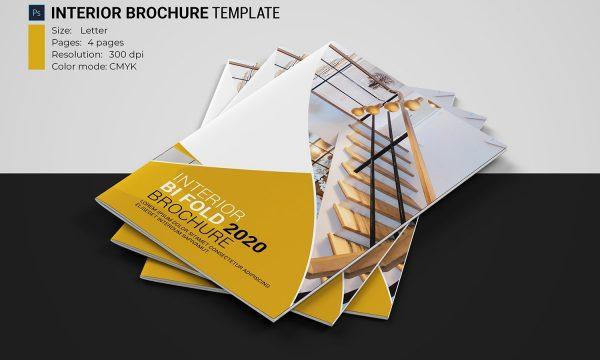 Interior Brochure Template 4607428
