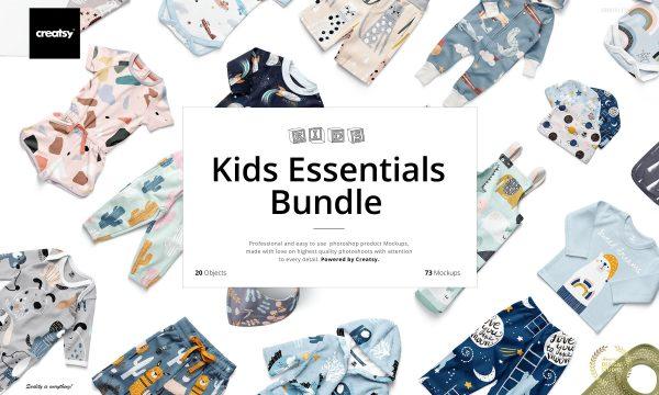 Kids Essentials Mockup Bundle 5511757