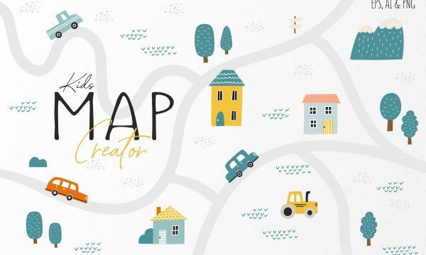 Kid's Map Creator Set 4969478