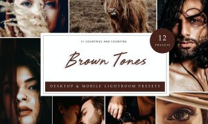 Lightroom Presets - Brown Tones