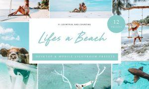 Lightroom Presets - Life's a beach