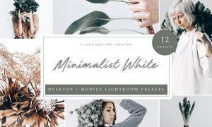 Lightroom Presets - Minimalistic White
