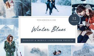 Lightroom Presets - Winter Blues