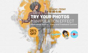 Manipulation Effect Photoshop Action 33265930