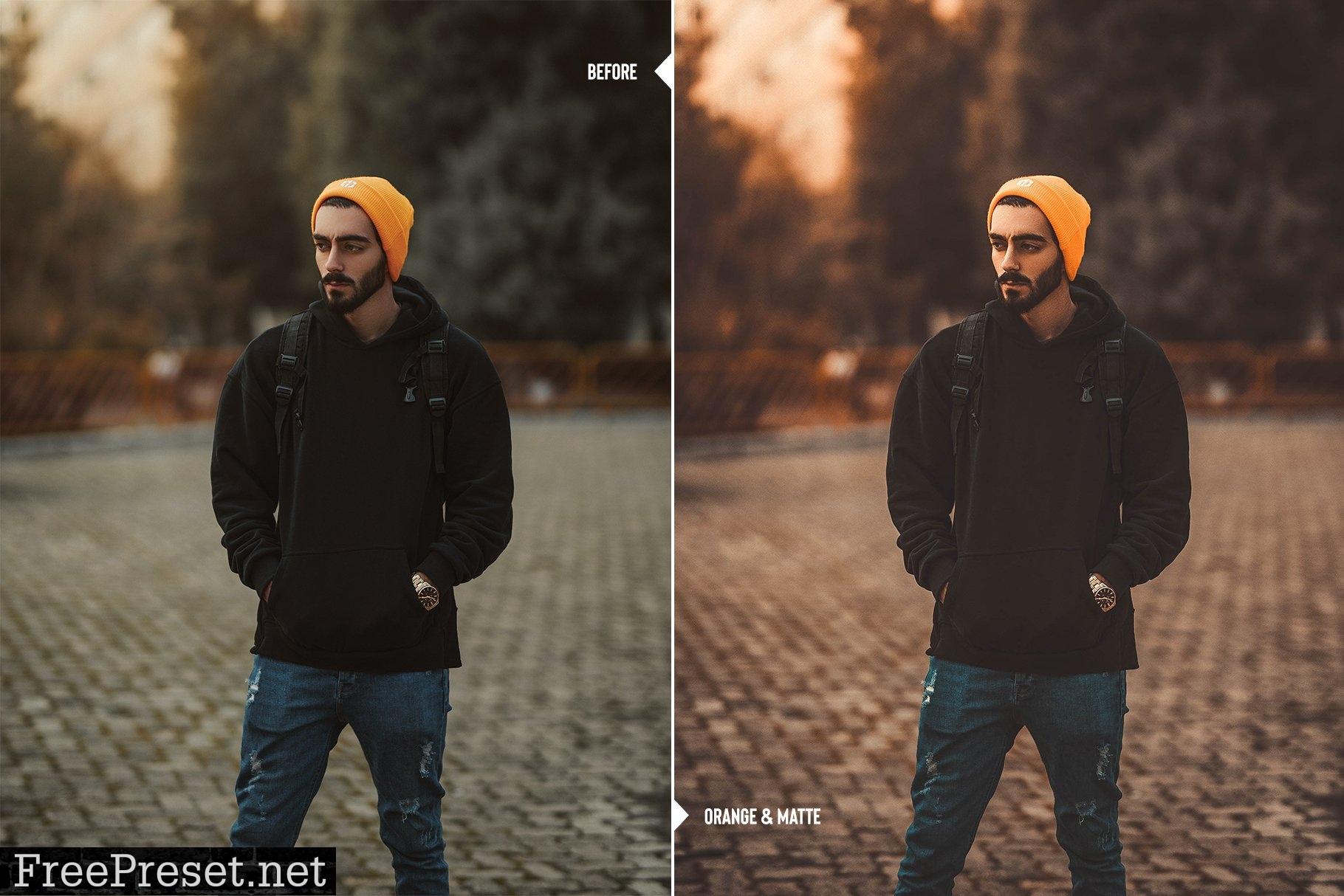 ORANGE tone mobile & desktop presets 6122045