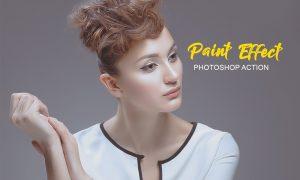 Paint Effect Photoshop Action 4742390