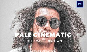 Pale Cinematic Photoshop Action