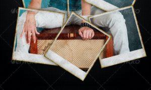 Polaroid Collage Photo Template 2627722