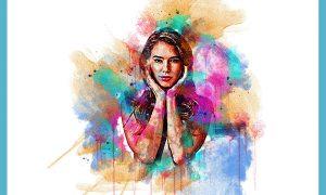 Portrait Art Photoshop Action 6363970