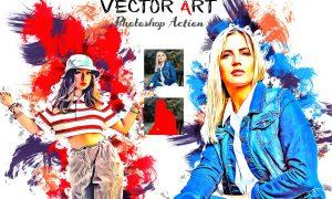 Premium Vector Art PS Action 6383781