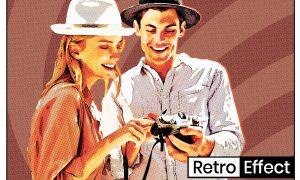 Retro Poster Effect 5028505