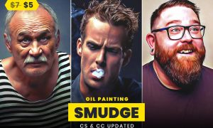 Smudge Oil Painting 5505753