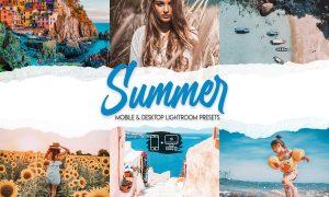 Summer - 15 Premium Lightroom Presets